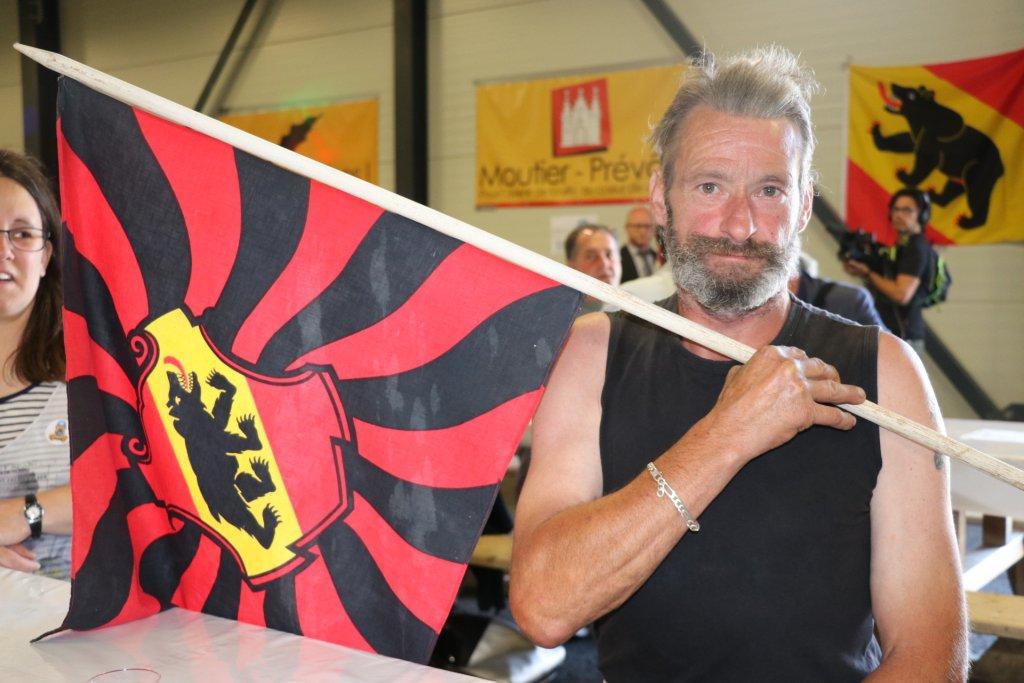 Les pro-bernois sont réunis au Forum de l'Arc